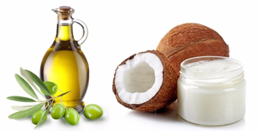 Кокосовое масло Vs Оливковое